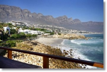 South Africa Campsbay villas guesthouses