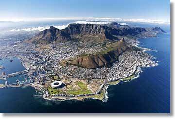 Cape Town Table Mountain - click the image to view a larger version in a new window