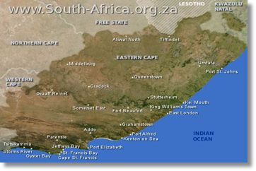 Eastern Cape Map