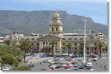 Courthouse in Cape Town