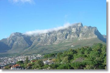 Table Mountain - the landmark of Cape Town