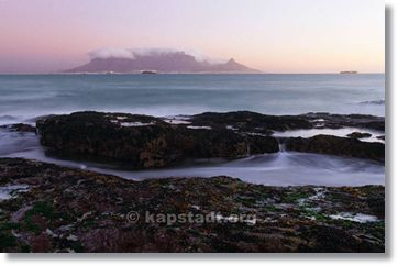 Table Mountain Bloubergstrand View